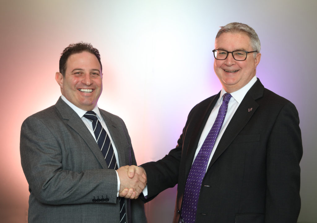 Picture of Catalyst Co-Founder and Group CEO, Craig Sher (left) with Catalyst Group CEO, Andrew Middleton (right)