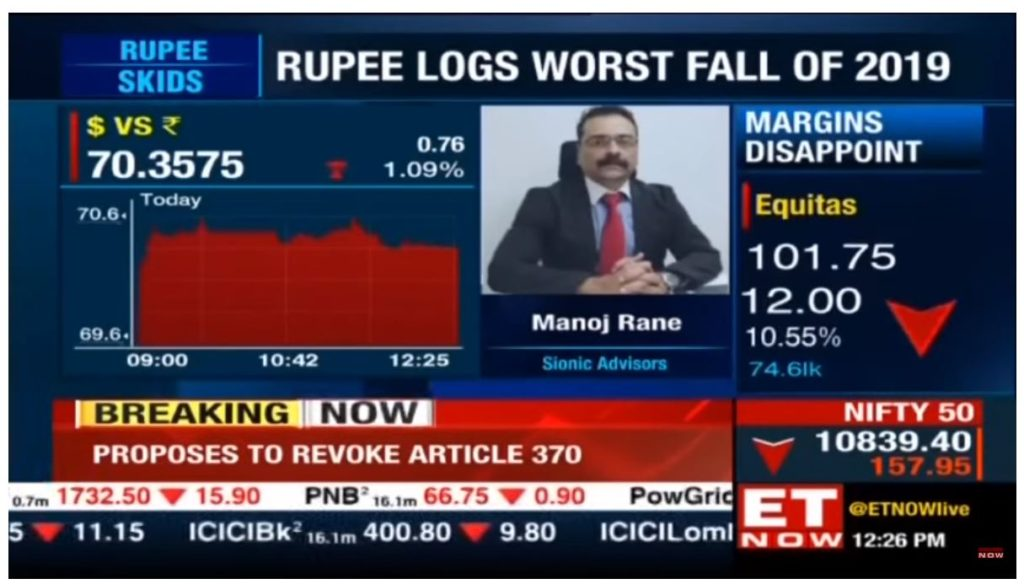 Manoj Rane speaks to The Economic Times